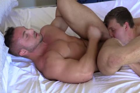 str8 Stroking Each Other RIGHT before butthole bang! nasty jocks