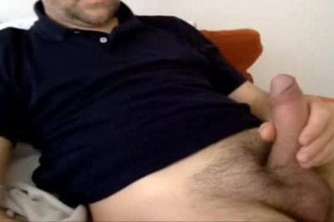 Serbian Married Daddy spooge Over His Shirt