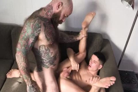 Tattooed Daddy pounds His juvenile Stepson