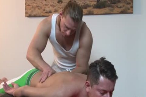 Trent Tarzan & Nick Gill - tight Massage