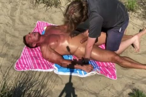 Dilf hammered On The Beach