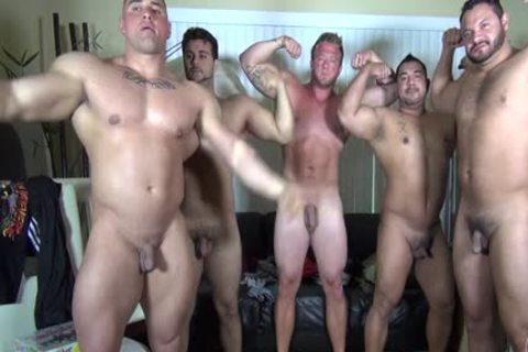In Nature's Garb Party @ LATINO Muscle Bear abode - non-professional enjoyment W/ Aaron Bruiser