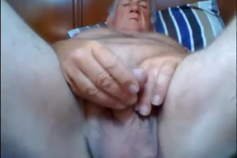 Stormbird1 lustful old grandpa working out his cock