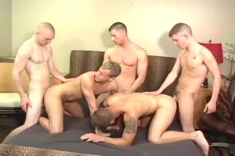 Hunks Takes Part In Some Incredible bunch Action