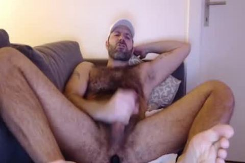 bushy Budy jerk off Cumming Load