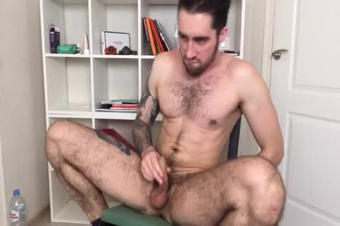 Bushy And pumped up Russian Males Alex Discharges A gigantic Load