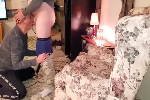engulfing O lad Off And Eating his cum