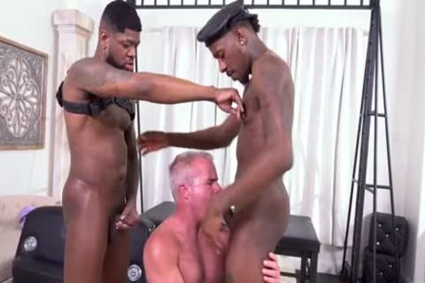 Daddy And  2 dark cock´s