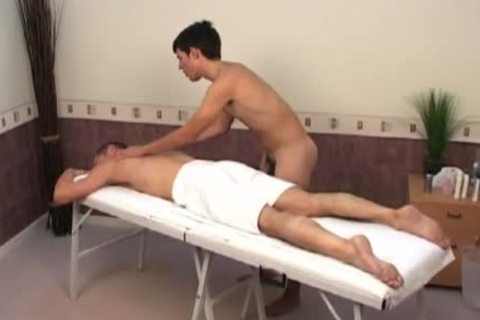 Beautiful abode hunky masseur gives full service