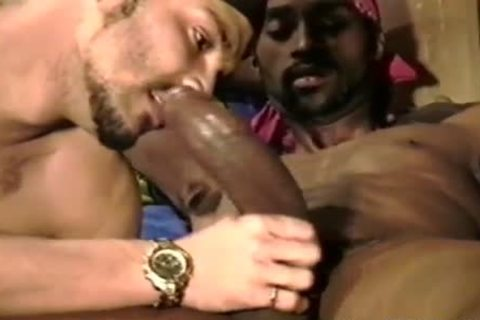 latin lad sucks large darksome knob